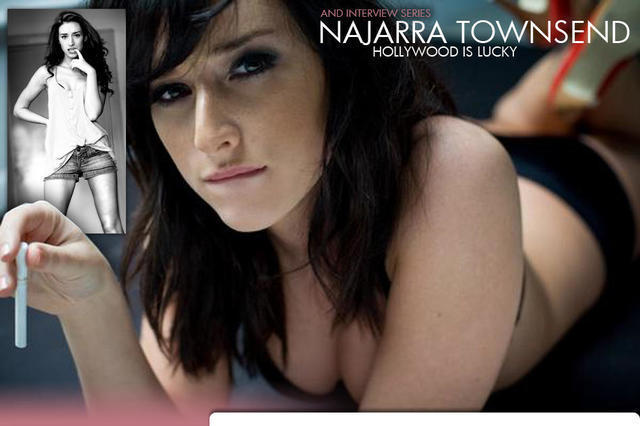 Najarra Townsend topless photo