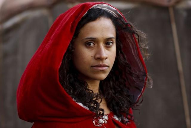 models Angel Coulby 18 years barefaced photography beach