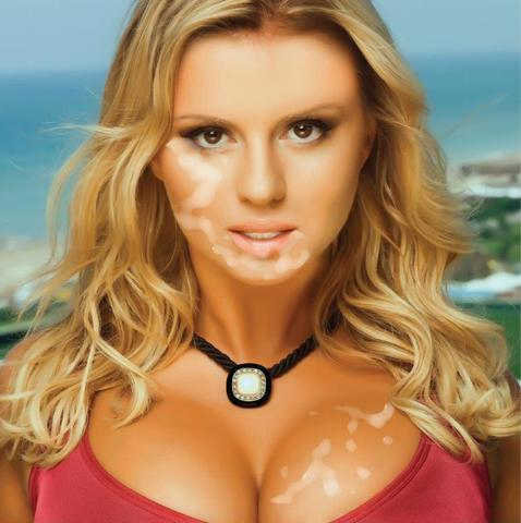 actress Anna Semenovich 25 years lewd image in the club