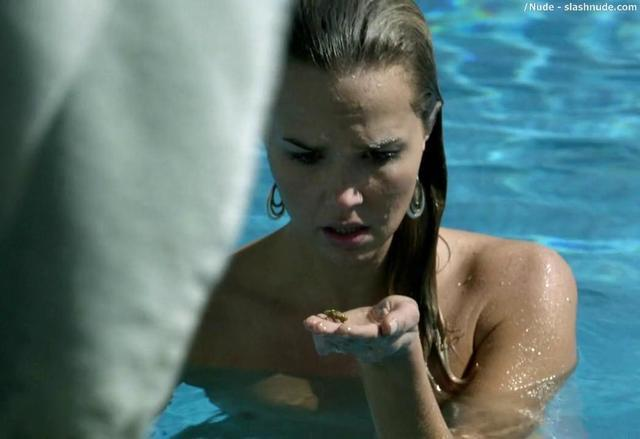 arielle kebbel in the after nude swimming
