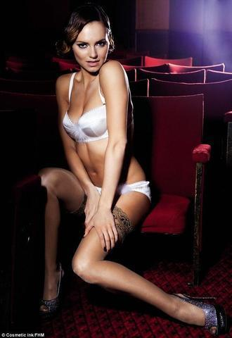 actress Kara Tointon 25 years the nude photos home
