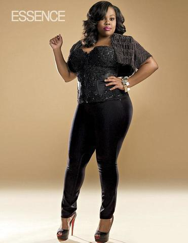 Naked Amber Riley picture