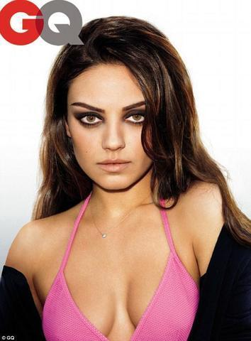 models Mila Kunis 20 years bare-skinned image home