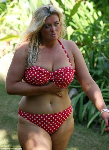 Naked Gemma Collins photography