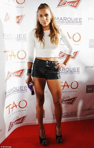 actress Lolo Jones 19 years provocative picture in public