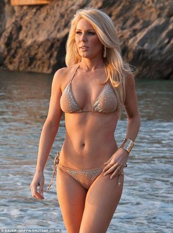 Naked Gretchen Rossi photoshoot