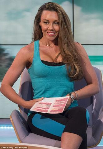 actress Michelle Heaton 18 years indelicate picture in the club