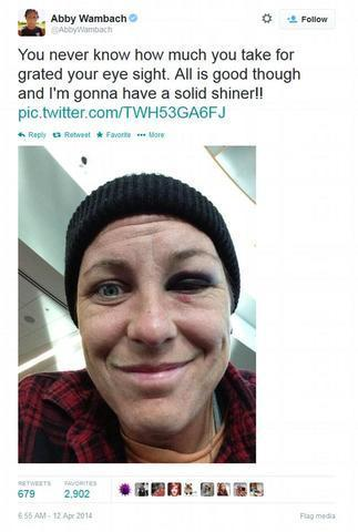 actress Abby Wambach teen stolen picture in public
