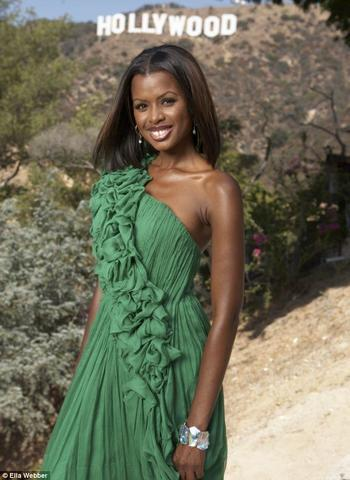 Naked June Sarpong photos