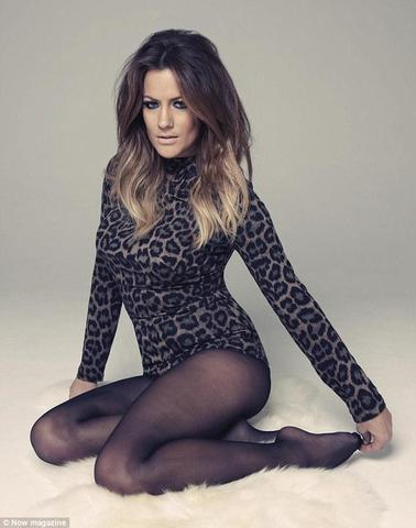 models Caroline Flack 21 years teat pics in public