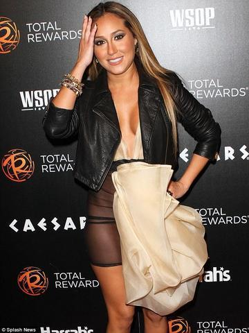 Naked Adrienne Bailon photoshoot