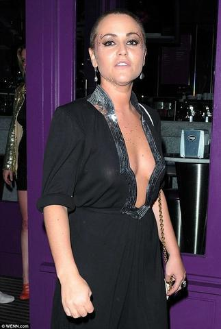 Naked Jaime Winstone picture
