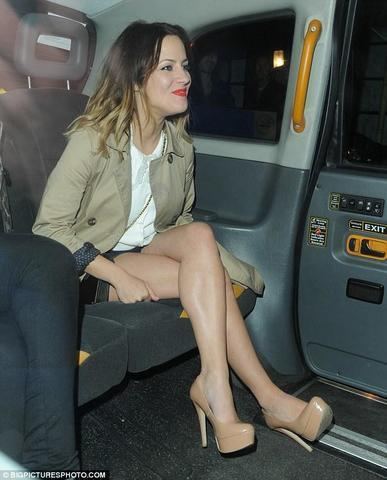 models Caroline Flack 2015 natural photos in the club