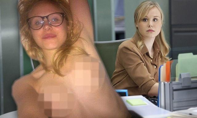 Hot picture Alison Pill tits