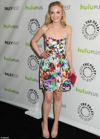 actress Emily Kinney young raunchy photography in public