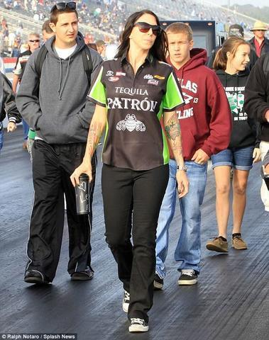 actress Alexis DeJoria 20 years Without brassiere pics in public