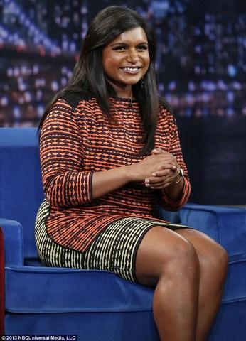 models Mindy Kaling 24 years provoking art in public