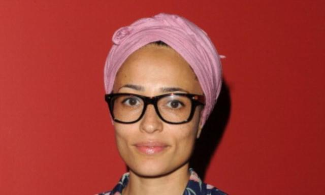 actress Zadie Smith 2015 natural photo in the club