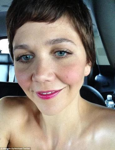 celebritie Maggie Gyllenhaal 22 years libidinous photos home