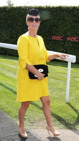 celebritie Zara Phillips 21 years indelicate photoshoot in public