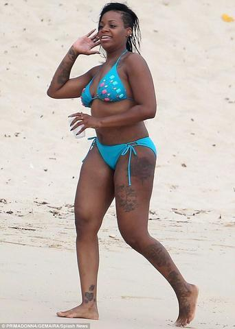 Fantasia Barrino topless photos