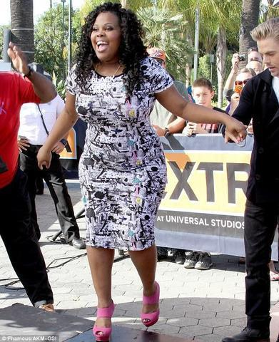 Hot image Amber Riley tits