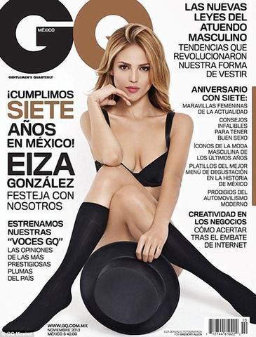 celebritie Eiza González 20 years lewd pics beach