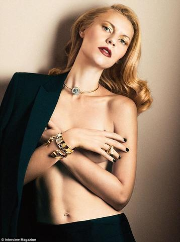 Sexy Claire Danes art high density