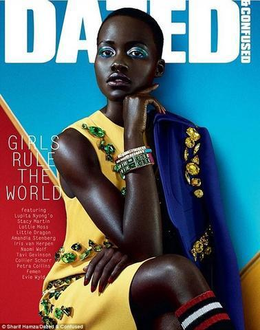 models Lupita Nyong'o 25 years leafless art in public