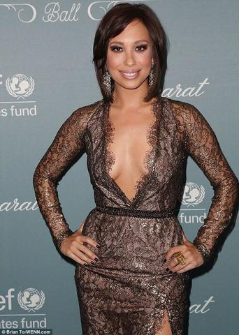 actress Cheryl Burke young Uncensored art in public