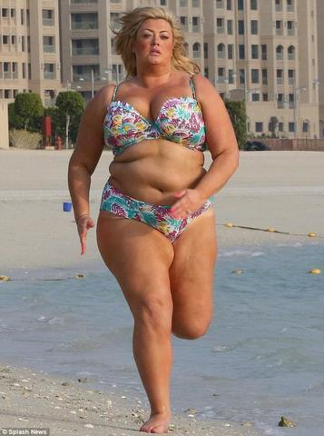 models Gemma Collins 25 years hooters pics beach
