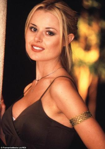 models Madeleine West 22 years salacious image beach