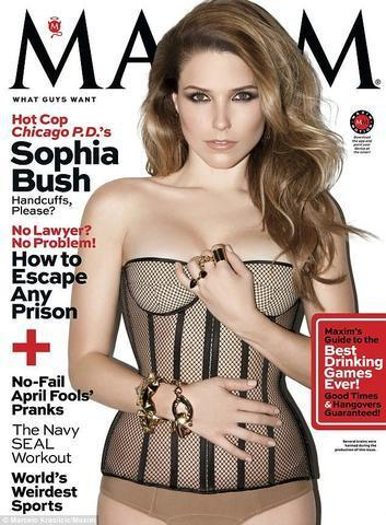 actress Sophia Bush 19 years stripped photo beach