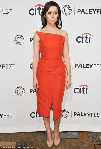actress Cristin Milioti 22 years leafless image in public