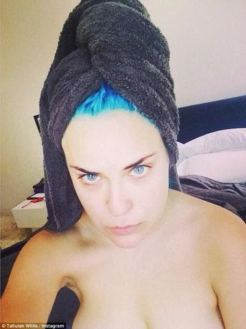 Tallulah Belle Willis topless photo