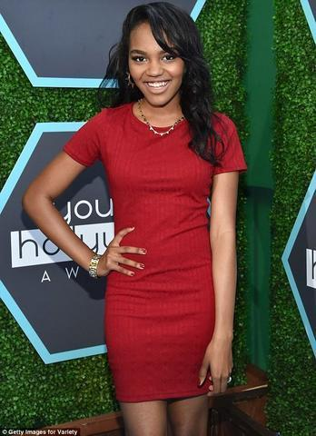 Hot photo China Anne McClain tits