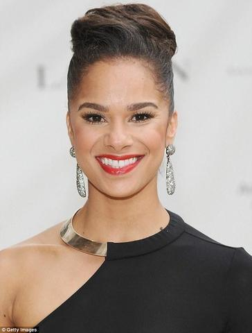 actress Misty Copeland 23 years swimming suit photography in public