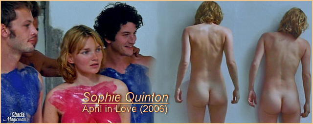 celebritie Sophie Quinton 23 years overt picture beach