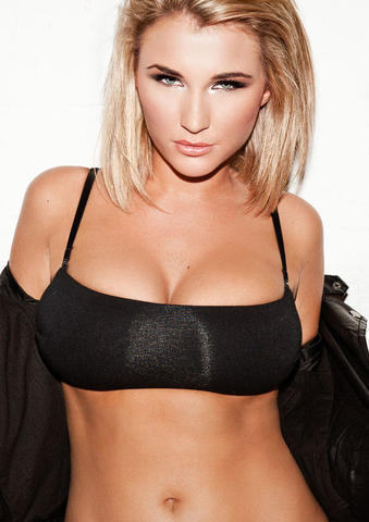 Billie Faiers topless photo