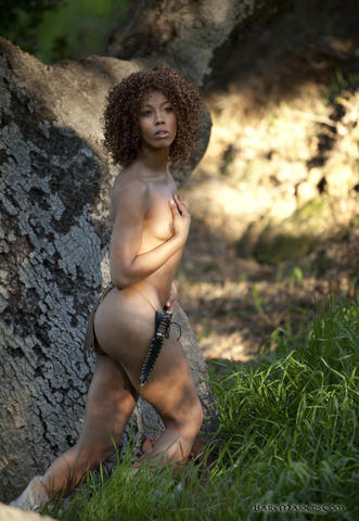 Naked Ciarra Carter photo