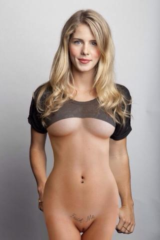 Naked Emily Bett Rickards picture