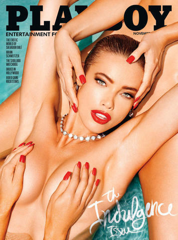 celebritie Stephanie Corneliussen 19 years in the buff photoshoot in the club