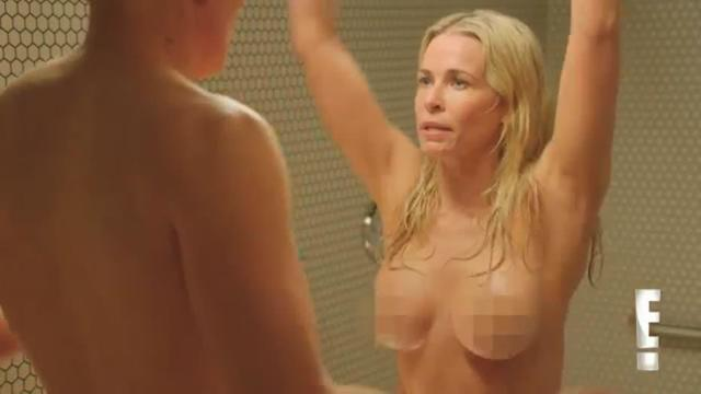 actress Chelsea Handler young Sexy photoshoot beach