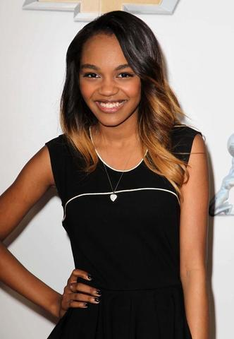 actress Sierra Aylina McClain 23 years stolen photoshoot in the club