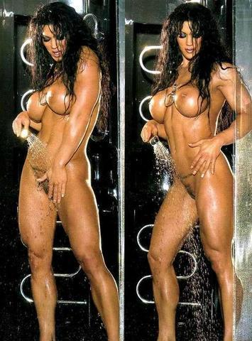 models Melina Perez 25 years unclothed art in public