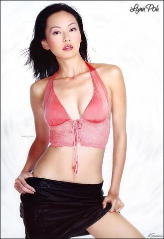 celebritie Celest Chong young Without clothing picture in public