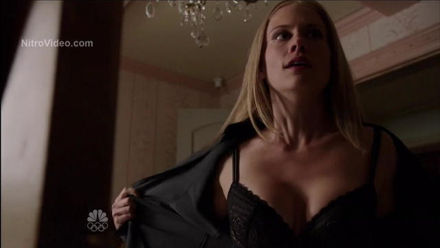 Claire Coffee topless art