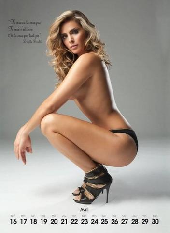 celebritie Clara Morgane 25 years undressed photoshoot in the club