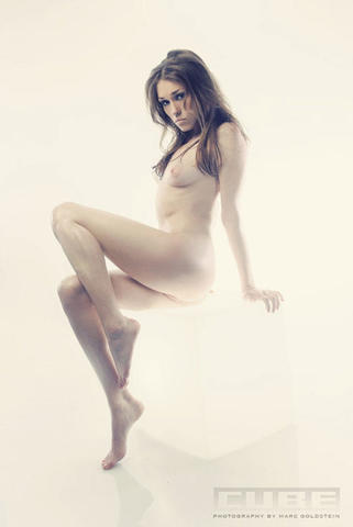 Naked Clare Grant foto