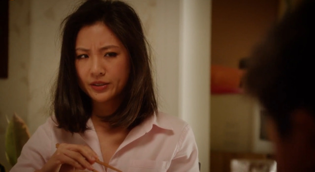actress Constance Wu 21 years leafless photo in the club